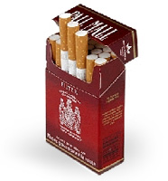 type of cigarettes in London